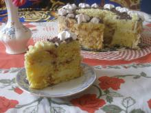 Cozonac Cake with Pudding