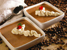 Chocolate Pudding with Coffee