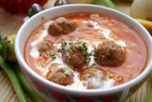Tomato Stew with Meatballs