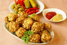 Turkey Meatballs with Walnuts