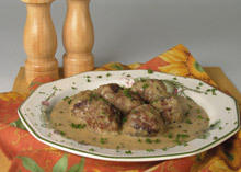 Veal Meatballs with Béchamel Sauce