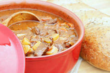 Easy Potato Stew with Beef