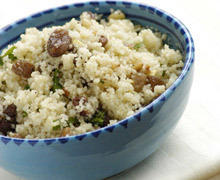 Couscous with Saffron and Herbs