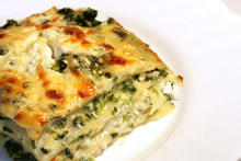 Lasagna with Spinach and Ricotta