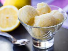 Lemon and Champagne Sorbet