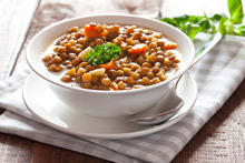 Lentils with Indian Spices