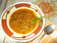 Lentil Soup with Garlic