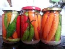 Chili Peppers without Boiling