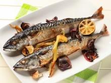 Pickled Mackerel with Garlic