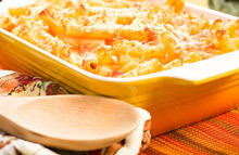 Gratin with Chicken and Pasta