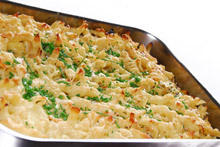 Baked Macaroni with Milk
