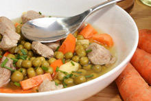 Pea Stew with Chicken