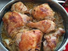 Marinated Oven-Baked Chicken Legs