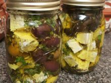 Marinated Feta Cheese with Fresh Spices
