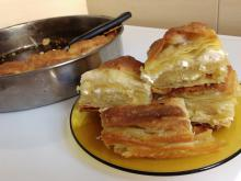 Lazy Bathed Phyllo Pastry