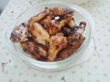 Grilled Chicken Wings with Honey