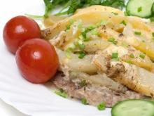 Pork and Potatoes with Cream