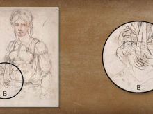 Secret Portrait of Michelangelo Found in One of his Sketches