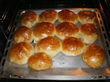 Buns with Ready-Made Dough