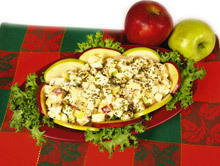 Turkish Salad with Walnuts and Apples