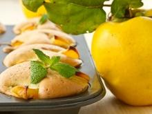 Autumn desserts with quinces