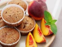 Muffins with Peaches