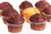 Chocolate Muffins with Orange