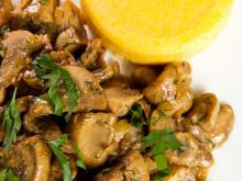 Mushrooms with Lemon and Parsley