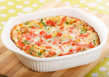 Moussaka with Peppers