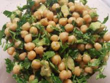Parsley Salad with Chickpeas and Avocado