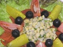 Fish Salad with Chickpeas