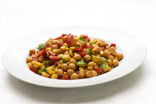 Chickpeas with Vegetables