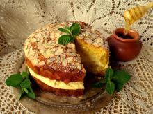 German Honey Cake with Almonds