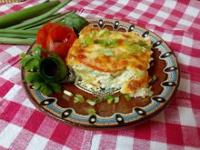 Gratin with Zucchini and Processed Cheese