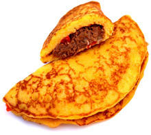 Omelette with Mince