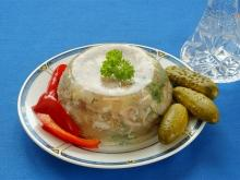 Pork Khash with Pickles