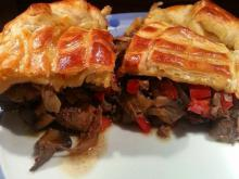 English Pie with Chicken Livers