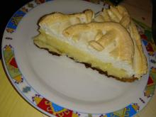 Lemon Pie with Mascarpone