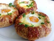 Little Stuffed Bread Buns with Eggs