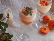 Panna Cotta with Apricots