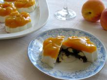 Panna Cotta with a Peach Surprise