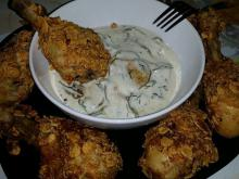 Breaded Chicken with Cornflakes