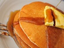 Pancakes with Corn Semolina