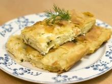 Phyllo Pastry with Cheese and Ready Made Pastry