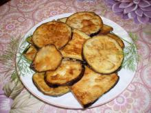 Crunchy Fried Eggplants
