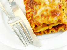Lasagna with Pancakes and Mushrooms
