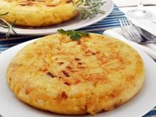 Potato Dish (Patatnik) with Parsley