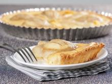 Cake with Pears and Eggs