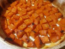 Diced Baked Pumpkin