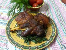 Roast Lamb in Portions
